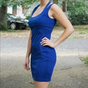 Blue mini dress!